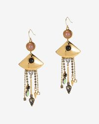 Lizzie Fortunato | Metallic Mexico Fringe Earrings | Lyst
