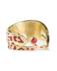 Marc Alary | Metallic Panther Ring | Lyst