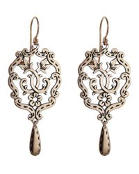 Laurent Gandini | Metallic Little Chandelier Earring | Lyst