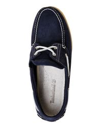 Timberland - Blue Navy Classic 2-Eye Boat Shoes for Men - Lyst
