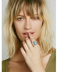 Free People - Metallic Mercury Ring - Lyst