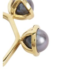 Smith/grey | Gray The Whisper Grey Pearl Ring | Lyst