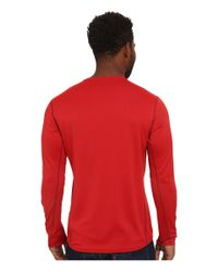 Patagonia | Red Cap Midweight Crew for Men | Lyst