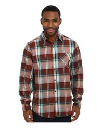 Marmot - Red Doheny Flannel Ls for Men - Lyst
