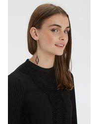 Oasis | Black Diamond Drop Earrings | Lyst