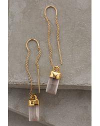 Heather Hawkins | Pink Quartz Sweeper Earrings | Lyst