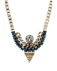Lionette - Tribeca Necklace in Blue - Lyst