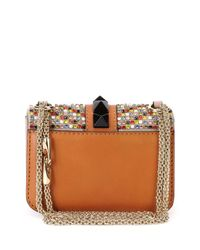 Valentino - Multicolor Crystal Rockstud Cross-Body Bag - Lyst