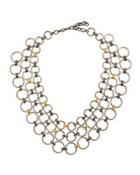 Gurhan | Multicolor Hoopla Multistrand Necklace | Lyst