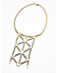 Free People | Metallic Karen London Womens Revival Necklace | Lyst
