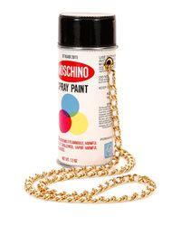 Moschino - White Spray Paint Shoulder Bag - Lyst