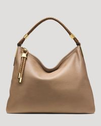 Michael Kors | Natural Hobo - Skorpios Top Zip | Lyst