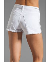 Citizens of Humanity | White Chloe Cut Off Short | Lyst