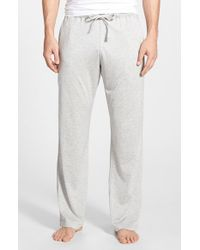 Daniel Buchler | Gray Silk & Cotton Lounge Pants for Men | Lyst