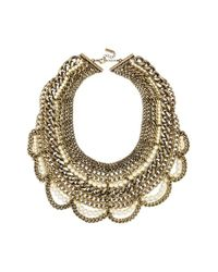 BaubleBar | White 'courtney 2.0' Necklace | Lyst