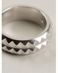 Vj By Vanni Pesciallo - Metallic 'Iratus Ii' Ring - Lyst