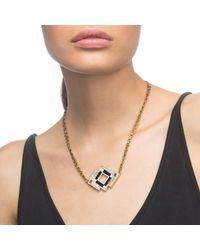 Lulu Frost - Metallic Ravenna Pendant Necklace - Lyst