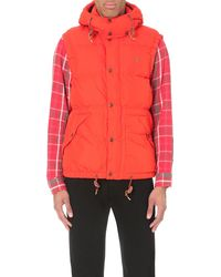 Ralph Lauren | Orange Elmwood Quilted Gilet for Men | Lyst