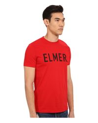 DSquared² - Red Elmer The Canadian Hunter T-shirt for Men - Lyst