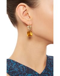 Renee Lewis - Metallic 18K Yellow Gold Citrine And Topaz Earrings - Lyst