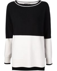 Rag & Bone - Black 'pamela' Sweater - Lyst