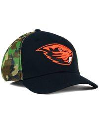 Lyst - Nike Oregon State Beavers Camo Hook Swooshflex Cap in Green ... 7831fb109
