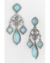 Konstantino | Blue 'aegean' Chandelier Earrings | Lyst