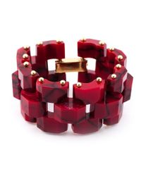 Eshvi | Red 'Braid 33' Bracelet | Lyst