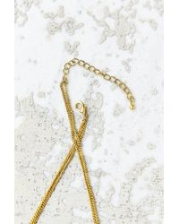 Urban Outfitters - Metallic Open Circle Layering Necklace - Lyst
