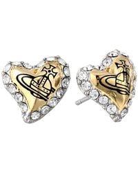 Vivienne Westwood | Metallic Zita Earrings | Lyst