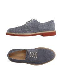 Florsheim - Gray Lace-up Shoes for Men - Lyst