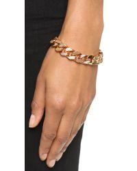 Vita Fede - Pink Franco Crystal Bracelet - Lyst