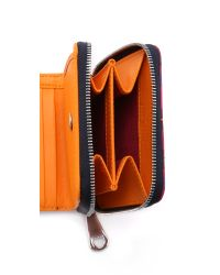 Aspinal - Pink X Etre Cecile Mini Continental Wallet - Deep Fuchsia - Lyst