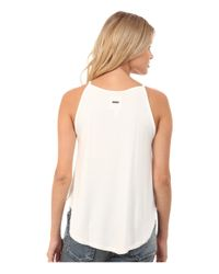 Billabong | White All A Dream Tank Top | Lyst