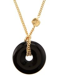 R.j. Graziano - Metallic Open-circle Pendant Necklace - Lyst