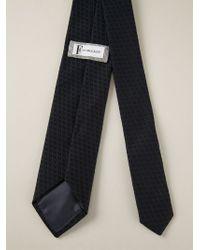 Paul & Joe - Blue Textured Tie for Men - Lyst