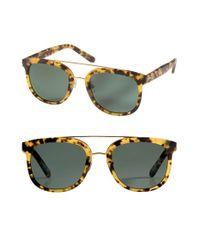 Krewe | Black 'cl-10' 53mm Polarized Sunglasses - Osaka Tortoise/ Polarized | Lyst