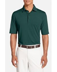 Bobby Jones - Green 'xh20 Solid' Regular Fit Four-way Stretch Golf Polo for Men - Lyst