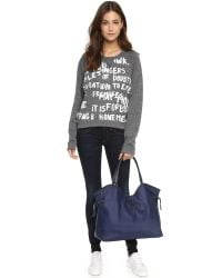 Tory Burch - Blue Slouchy Tote - Lyst