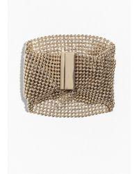 & Other Stories | Metallic Fluid Mesh Bracelet | Lyst