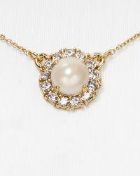 kate spade new york - Natural Secret Garden Mini Pendant Necklace  - Lyst