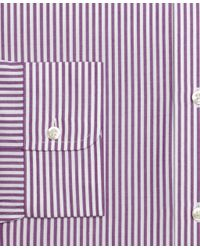 Brooks Brothers - Purple Regent Fit Bengal Stripe Dress Shirt for Men - Lyst