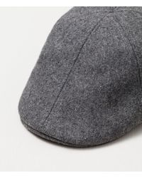 Zara | Gray Felt Cap for Men | Lyst