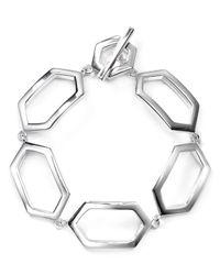 Ralph Lauren | Metallic Lauren Openwork Bracelet | Lyst