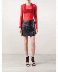 Phoebe English | Red Long Sleeved Top | Lyst