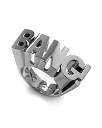 Noir Jewelry - Metallic Bang! Dc Comics Power Statement Ring - Lyst