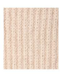 Haider Ackermann - Natural Mohair-Blend Sweater Dress - Lyst