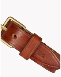 DSquared² - Brown Simple Man Armlet for Men - Lyst