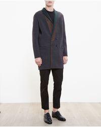 Kolor - Gray Cardi-coat for Men - Lyst