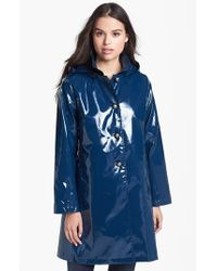 Jane Post | Blue Princess Rain Jacket | Lyst